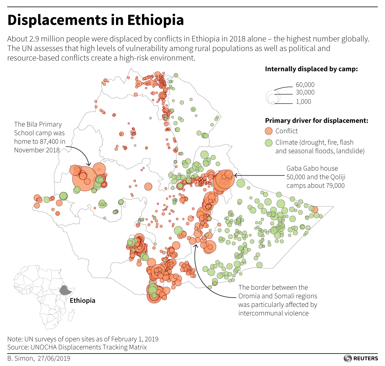 Twin attacks threaten new Ethiopian government's reforms - Reuters