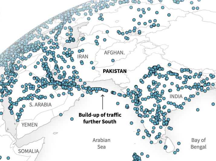 How India-Pakistan tensions have disrupted air travel