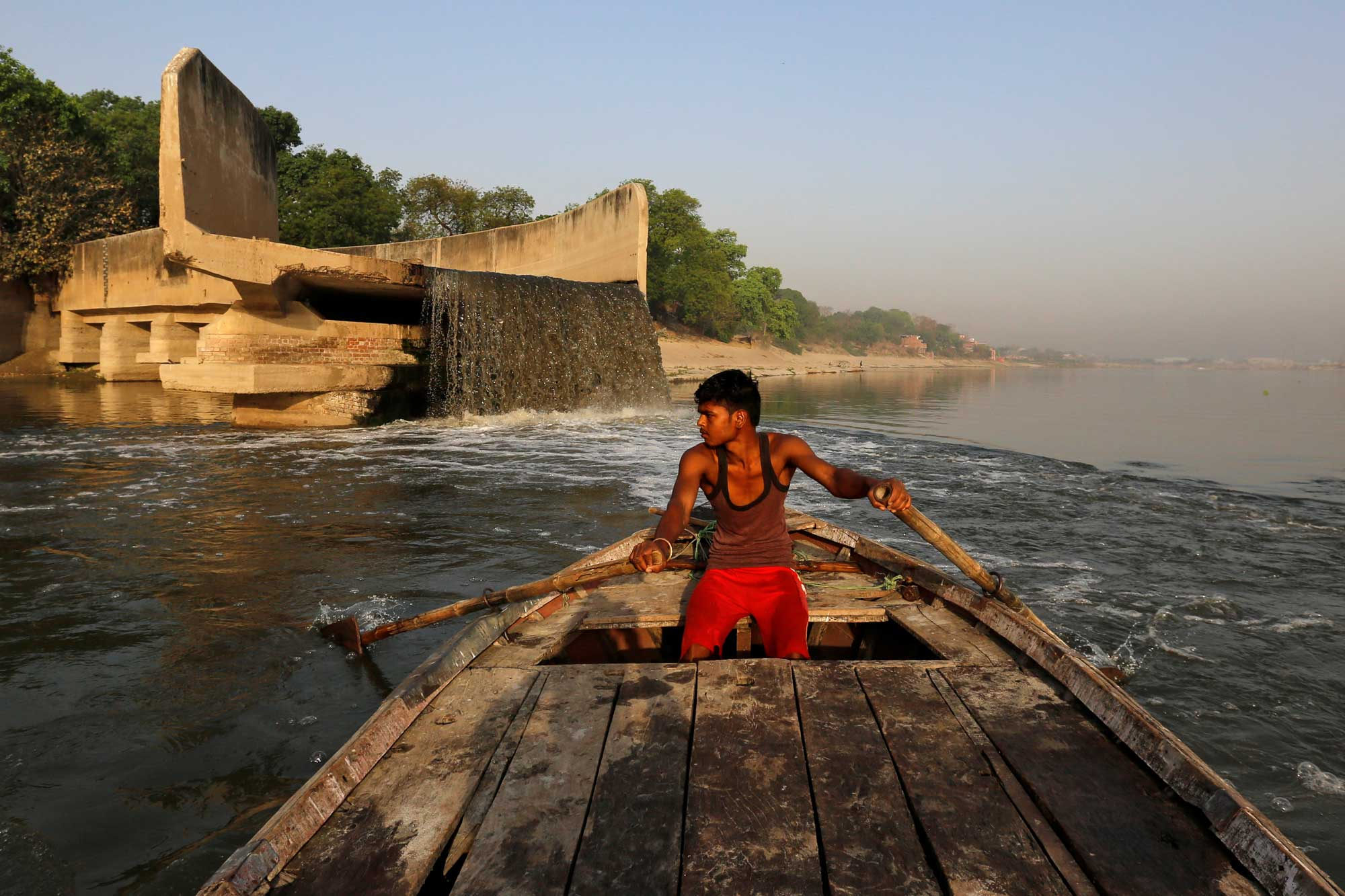 The race to save the river Ganges