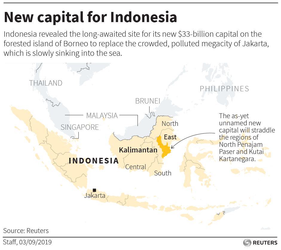 Sleepy to sleepless? Indonesia's future capital in the