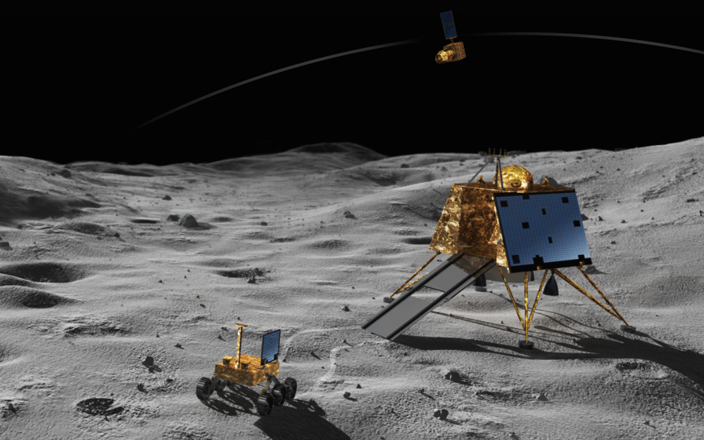 India's second lunar mission to touch down on the moon