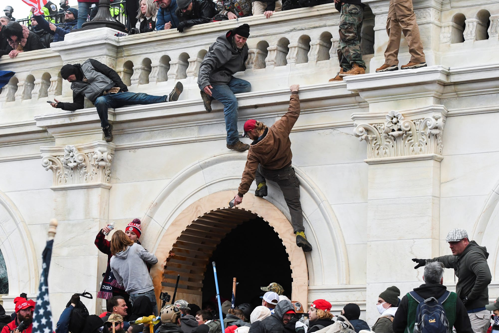 Republicans Still Deny Insurrection at Capitol on January 6th